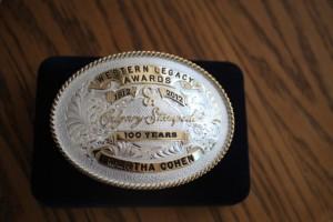 Western Legacy Award presented to Martha Cohen